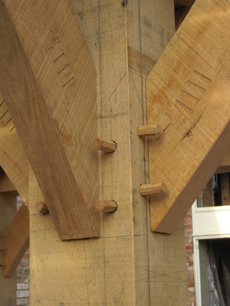 Joint Clash Timber Framing Blog From Castle Ring Oak Frame