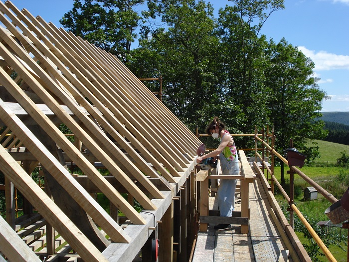 Common Rafters Oak Timber Frame Blog By Castle Ring