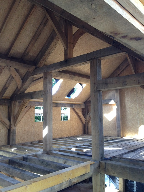 Timber framing for Building a timber frame house