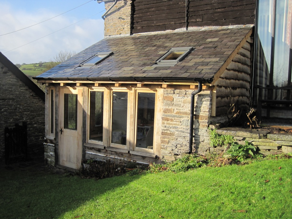 Case Study Replacement Conservatory Oak Framed