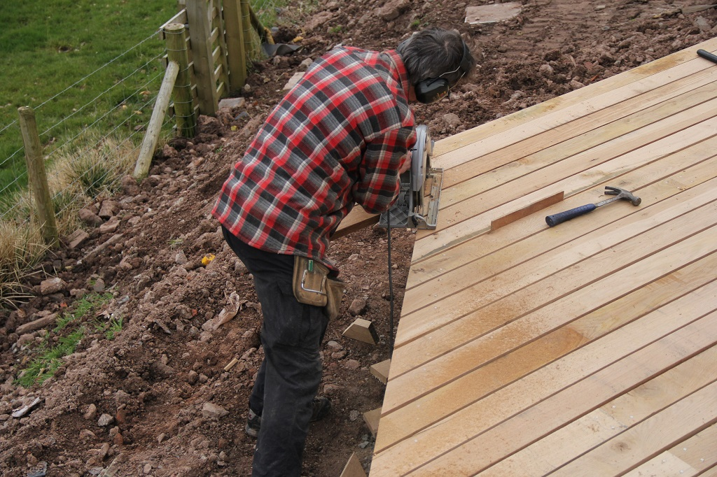 Decking edges