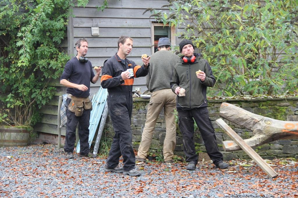 Castle Ring Oak Frame team Rob Dawson