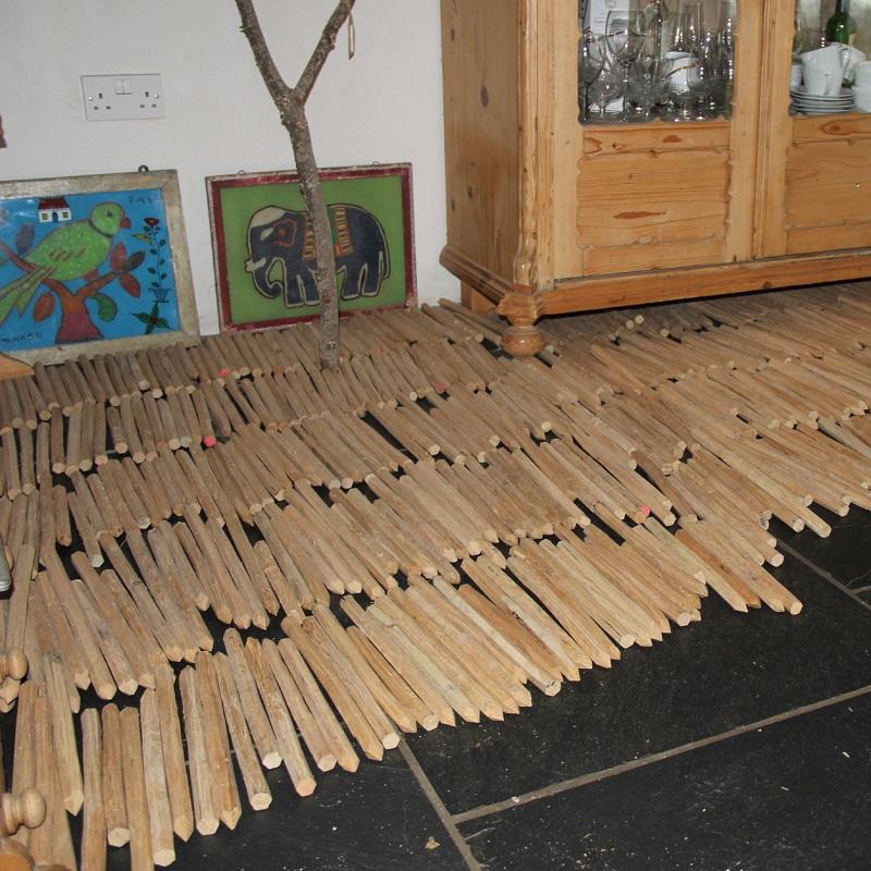 oak pegs timber frame house