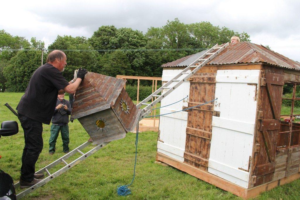 Gordon Langton builder Presteigne