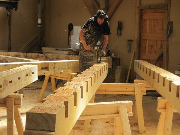 Joist Pockets Oak Timber Framing Blog By Castle Ring