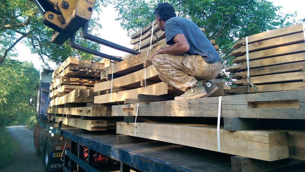 Timber frame transport