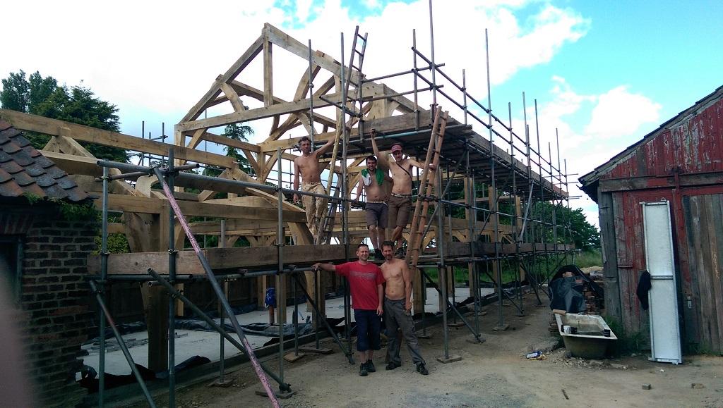 Self Build Timber Frame