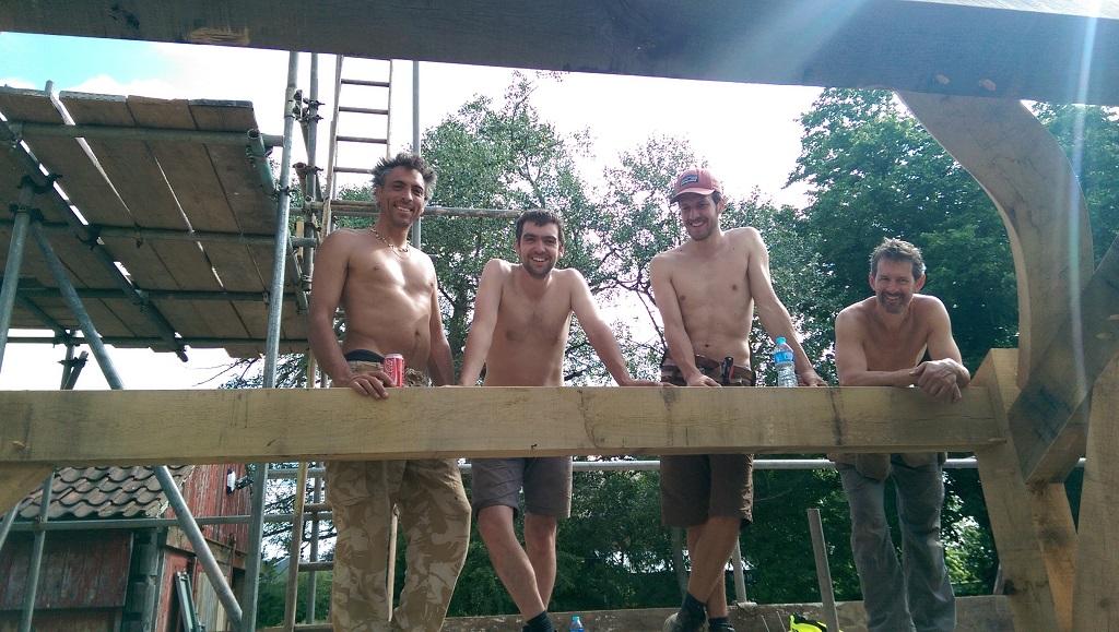 Castle Ring Oak Frame Rob Dawson and team