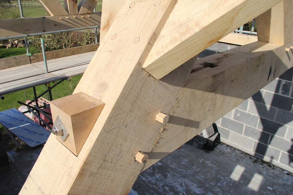 timberframe tension forces