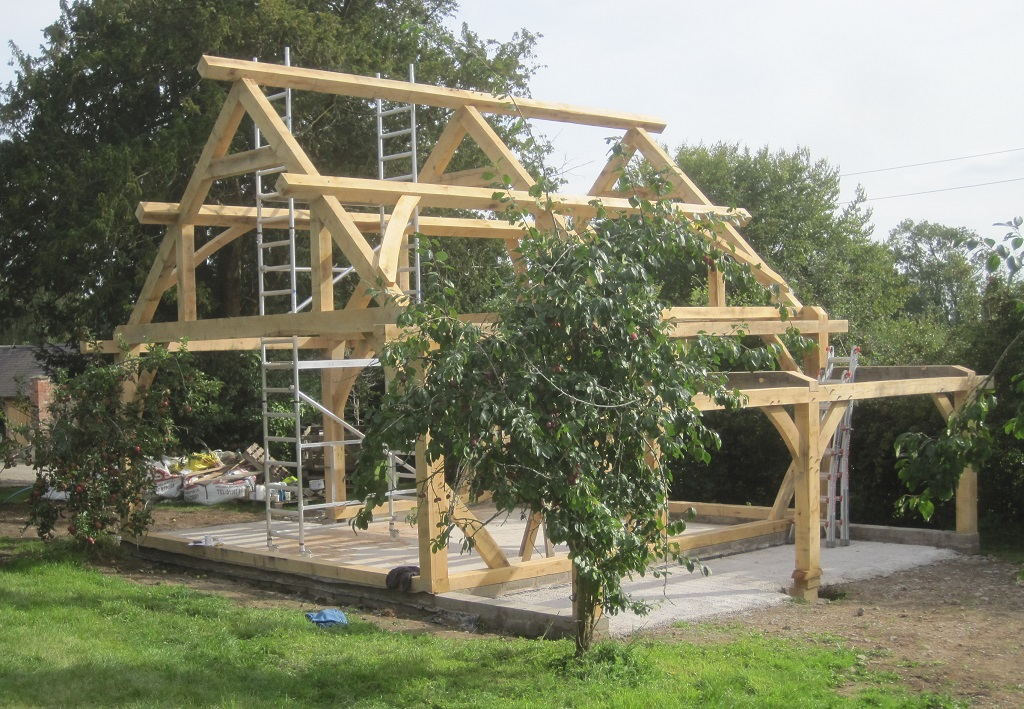 timber frame barn