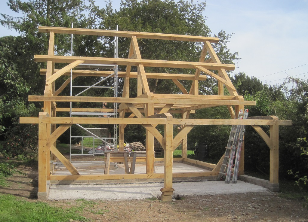 oak frame barn