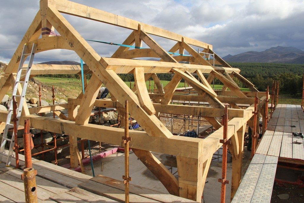 roof ridge purlins