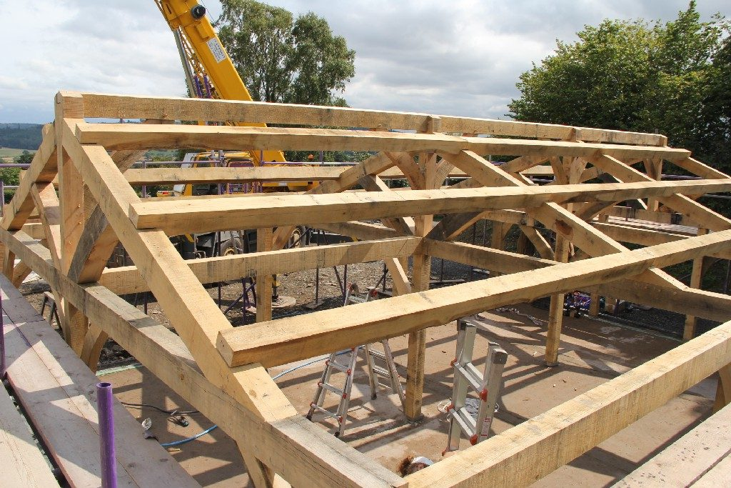 Oak frame Shropshire