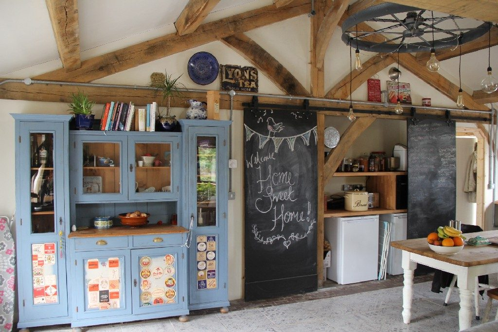 Oak framed house and timber framed buildings for Creative use of space
